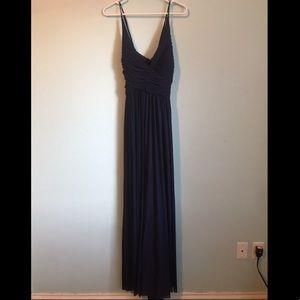Navy blue bridesmaid dress - David's Bridal